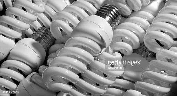 Kompakte fluoreszierend Lightbulbs