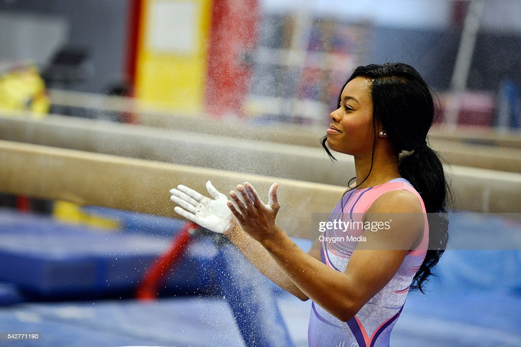 GOLD -- 'A Companion for Gabby' -- Pictured: Gabrielle 'Gabby' Douglas --