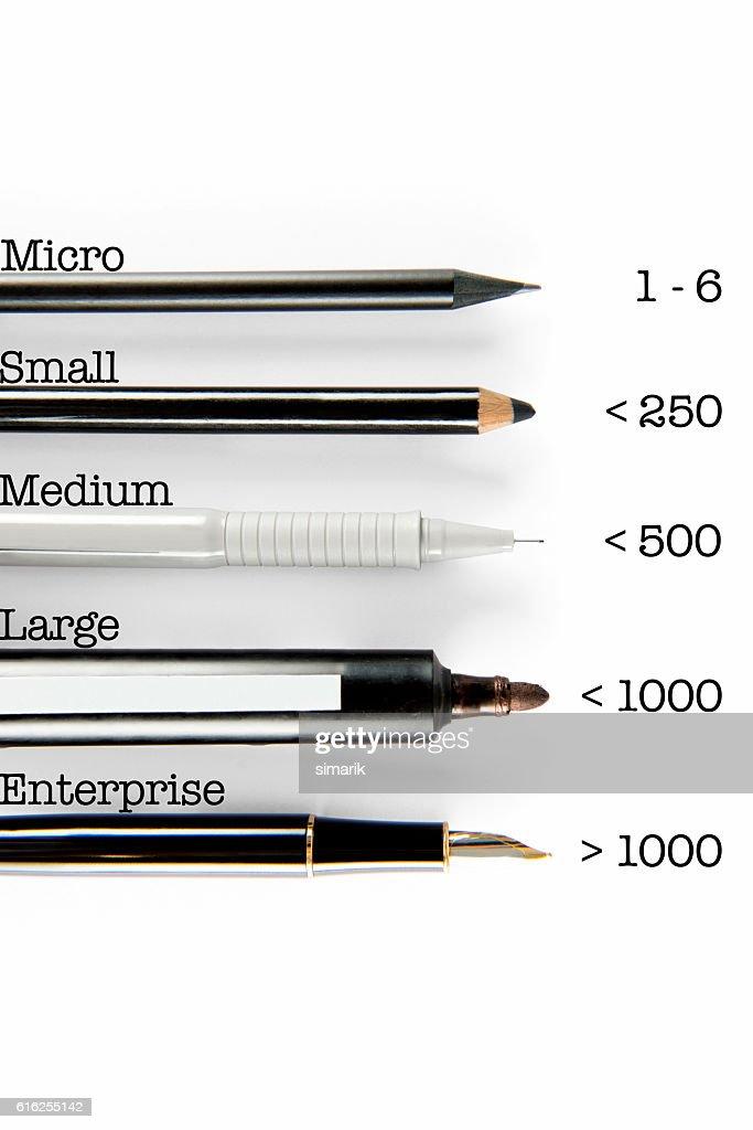 Company Scales : Foto de stock