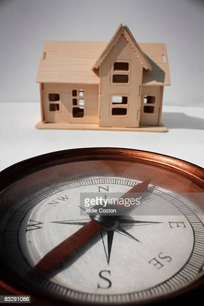 Compass and Model Home