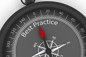 Compass, Arrow, Best Practice, Business,