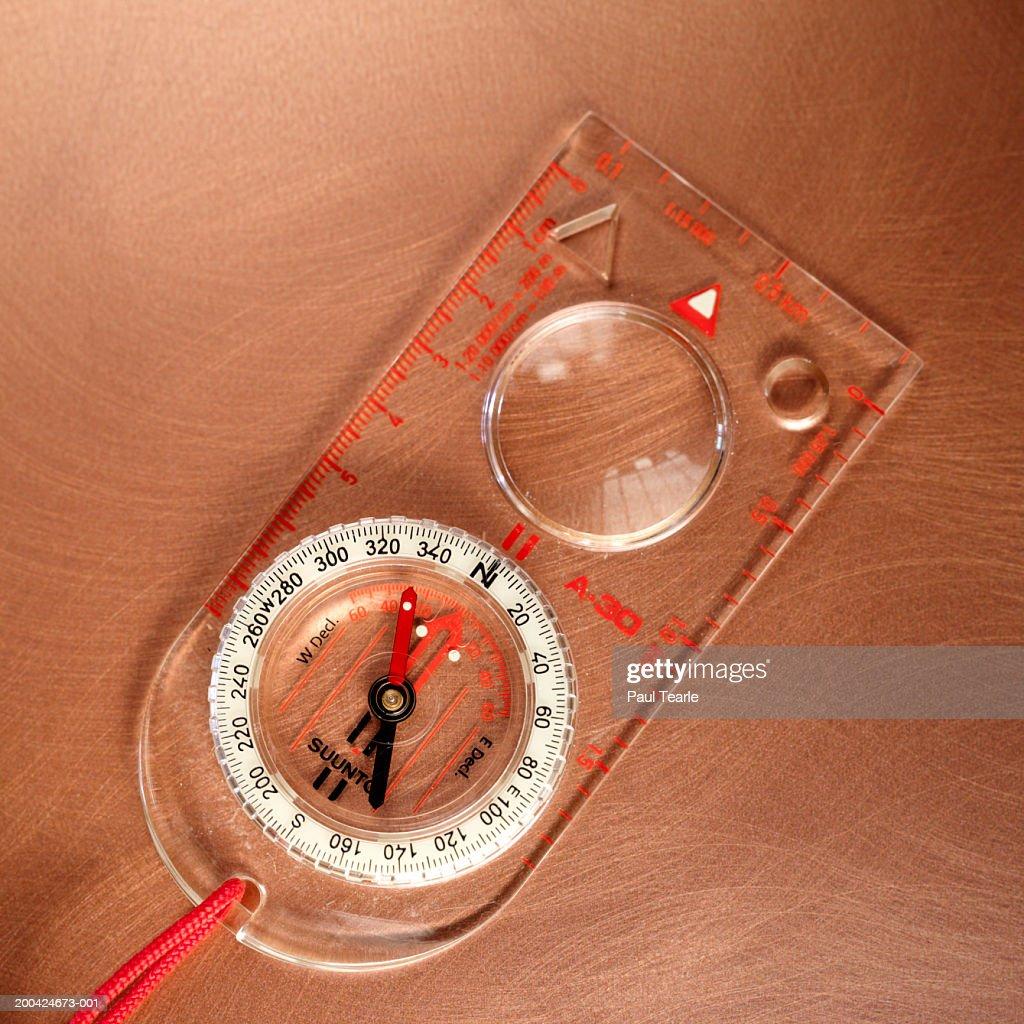Compass, close up : Stock Photo