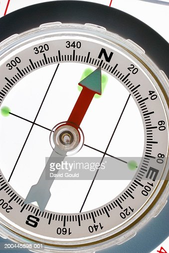 Compass, close-up : Stock Photo