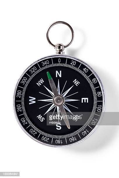 Compass, isolated on white, clipping path