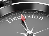 Compass Pointing to Decision