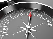 Compass Pointing to Digital Transformation