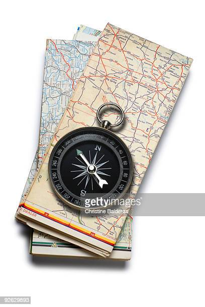 Compass & Road Maps