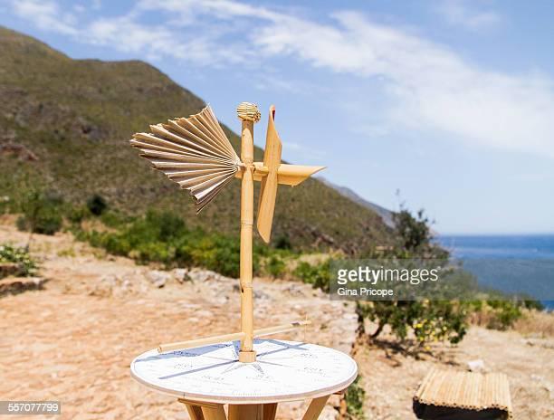 Compass rose at Zingaro Nature Reserve Sicily