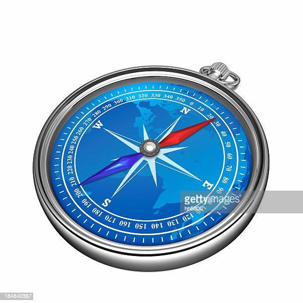 Compass carte du monde