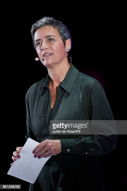 Competition commissioner of the European Commission Margreth Vestager attends the third edition of Bpifrance INNO generation at AccorHotels Arena on...