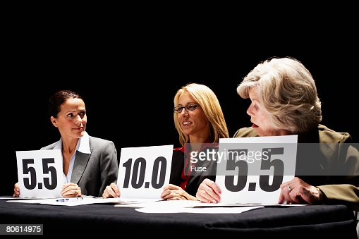 Competition Judge Giving Surprisingly High Score