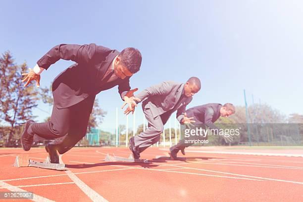 Wettbewerb auf der Rennstrecke