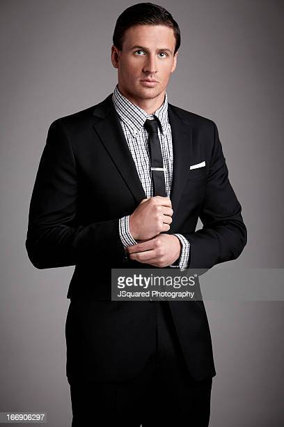Competitive swimmer and Olympic medalist Ryan Lochte is photographed for Self Assignment on February 7 2013 in Los Angeles California