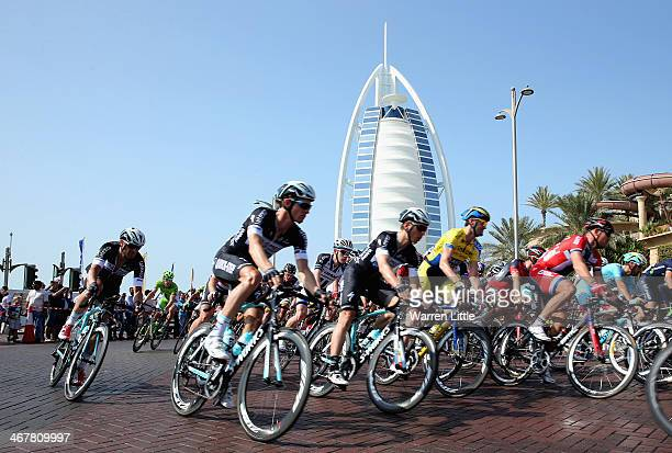 Dubai Tour Cycling Event Stock Photos and Pictures
