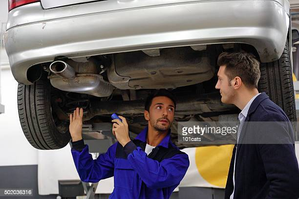 compiling a detailed vehicle assessment