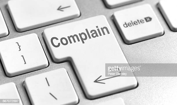 Complain computer keyboard