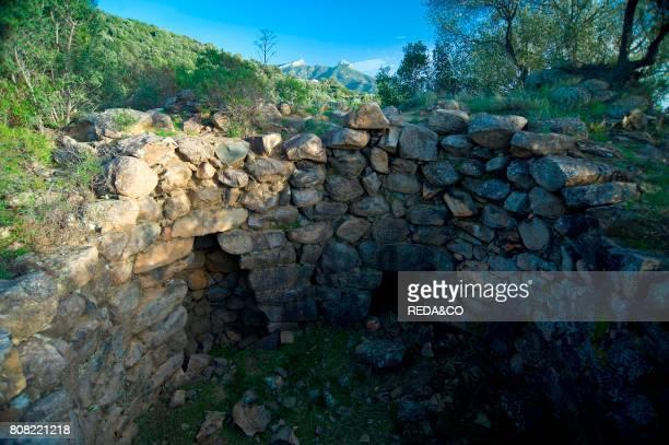 complesso nuragico Bau Nuraxi Triei Provincia Ogliastra Sardinia Italy
