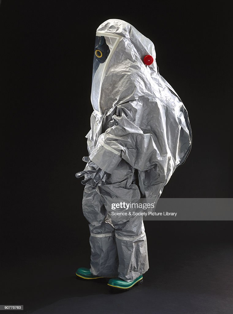 Complete body suit designed to protect the user against contamination from biological hazards such as anthrax Anthrax is a naturally occuring disease...