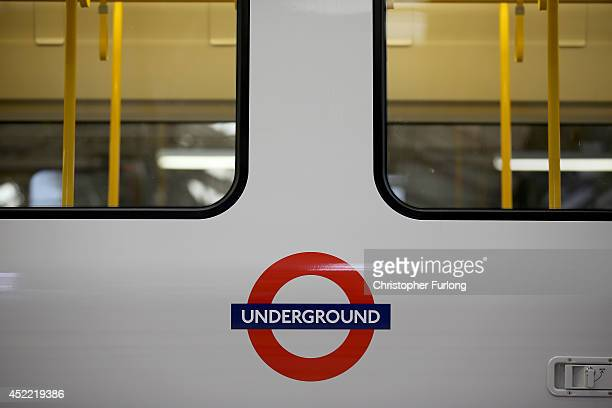 Completed carriages for London Underground wait to be delivered after being built at the Bombardier Transport manufacturing plant on July 16 2014 in...