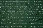 Complex Math on Chalkboard