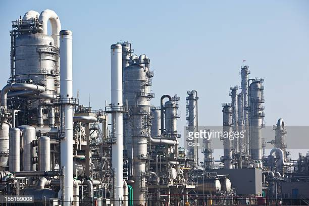 Complicated chemical plant