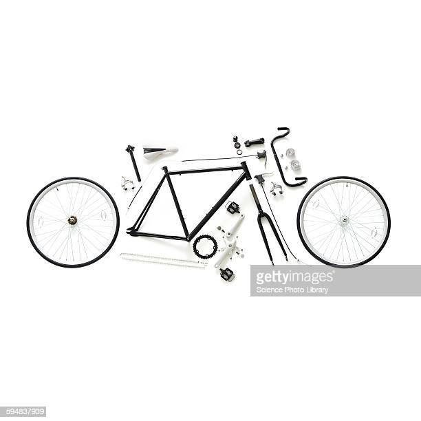 Components of a road bike