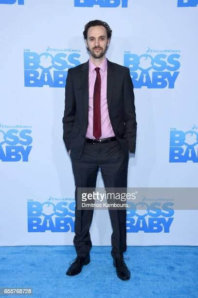 Compose Steve Mazzaro attends 'The Boss Baby' New York Premiere at AMC Loews Lincoln Square 13 theater on March 20 2017 in New York City