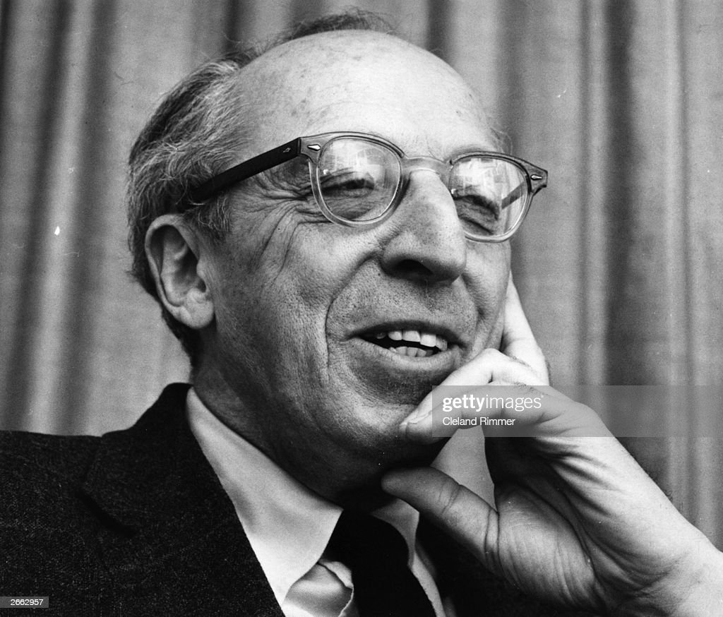 US composer <a gi-track='captionPersonalityLinkClicked' href=/galleries/search?phrase=Aaron+Copland&family=editorial&specificpeople=571902 ng-click='$event.stopPropagation()'>Aaron Copland</a>, (1900 - 1990).