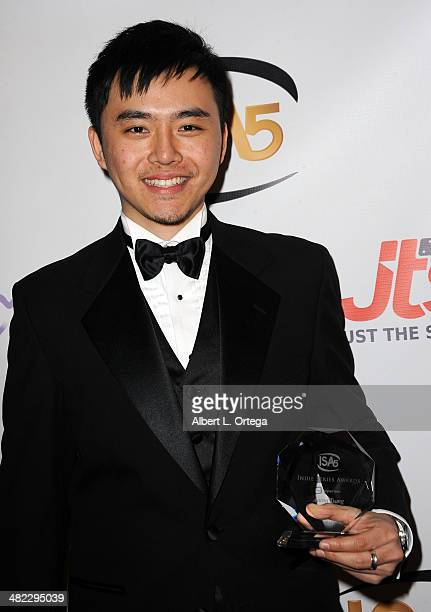 Composer Aaron Tsang winner Best Original Score from 'Pete Winning and the Pirates' attends 5th Annual Indie Series Awards held at El Portal Theatre...