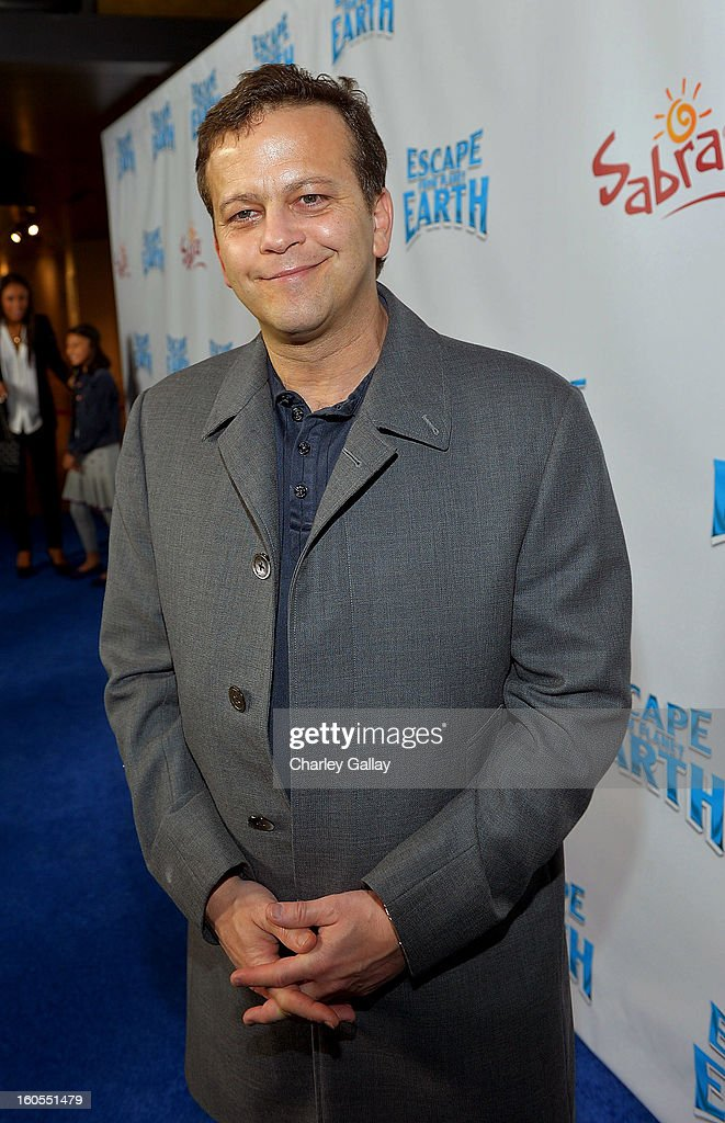 Composer Aaron Zigman attends the 'Escape From Planet Earth' premiere presented by The Weinstein Company in partnership with Sabra at Mann Chinese 6 on February 2, 2013 in Los Angeles, California.