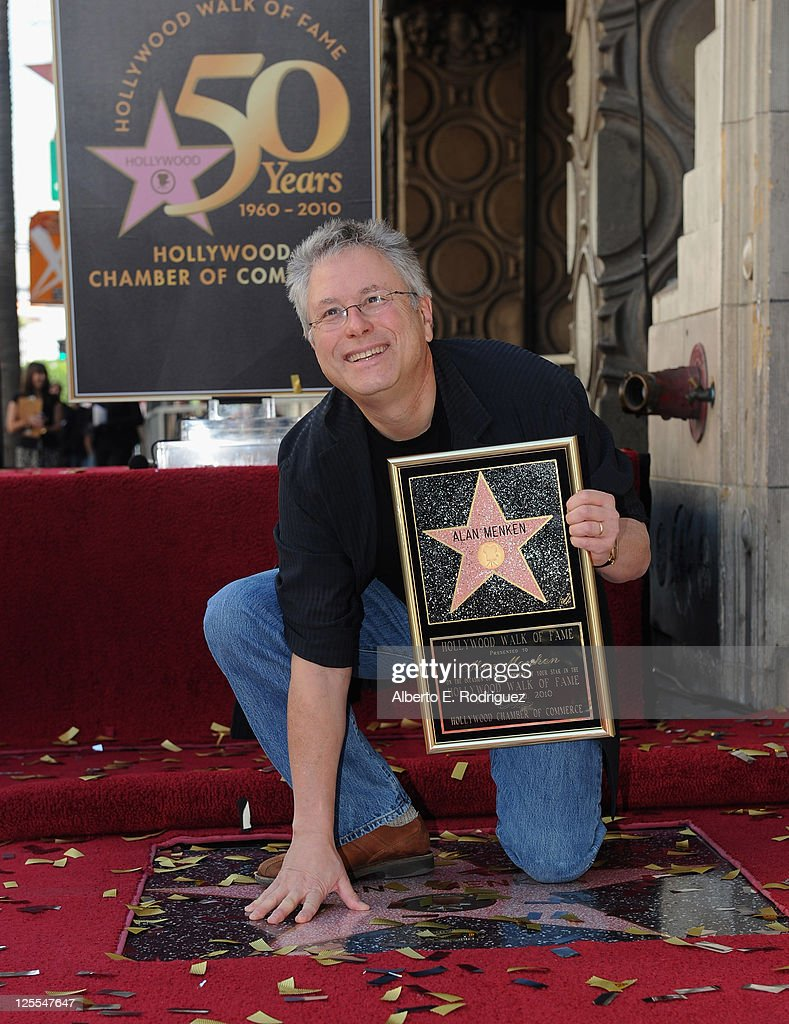 Alan Menken Honored On The Hollywood Walk Of Fame