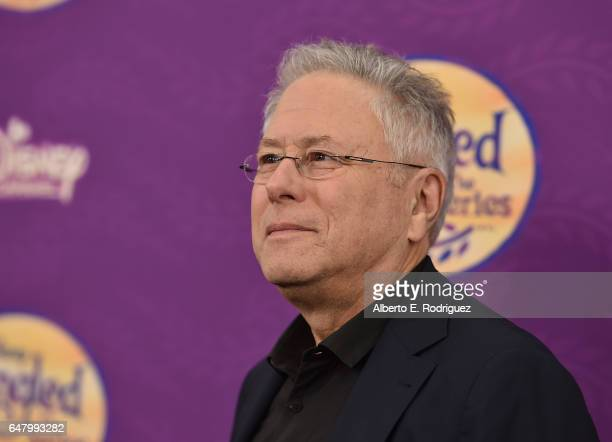 Composer Alan Menken attends a screening of Disney Channel's 'Tangled Before Ever After' at The Paley Center for Media on March 4 2017 in Beverly...