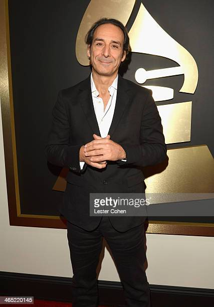 Composer Alexandre Desplat attends the 56th GRAMMY Awards at Staples Center on January 26 2014 in Los Angeles California