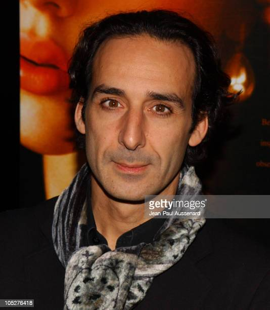 Composer Alexandre Desplat during 'Girl With A Pearl Earring' Los Angeles Premiere Arrivals at Academy of Motion Pictures Arts and Sciences in...