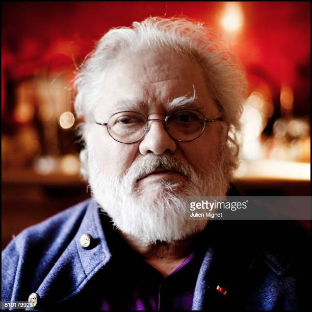 Composer and a pioneer in the musique concrËte genre of electronic music Pierre Henry is photographed at his home for Le Monde on October 13 2010 in...