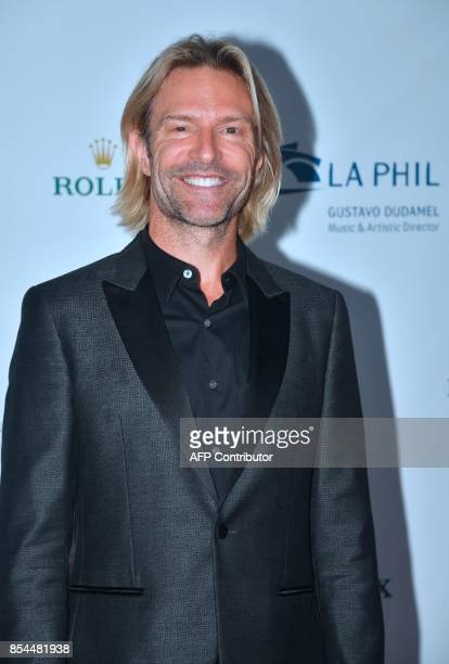 Composer and conductor Eric Whitaker arrives for the Los Angeles Philharmonic's 2017/18 Opening Night Gala 'Mozart The Early Years' in Los Angeles...