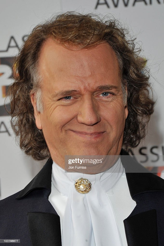 Composer <a gi-track='captionPersonalityLinkClicked' href=/galleries/search?phrase=Andre+Rieu&family=editorial&specificpeople=1016048 ng-click='$event.stopPropagation()'>Andre Rieu</a> attends the Classical BRIT Awards held at The Royal Albert Hall on May 13, 2010 in London, England.