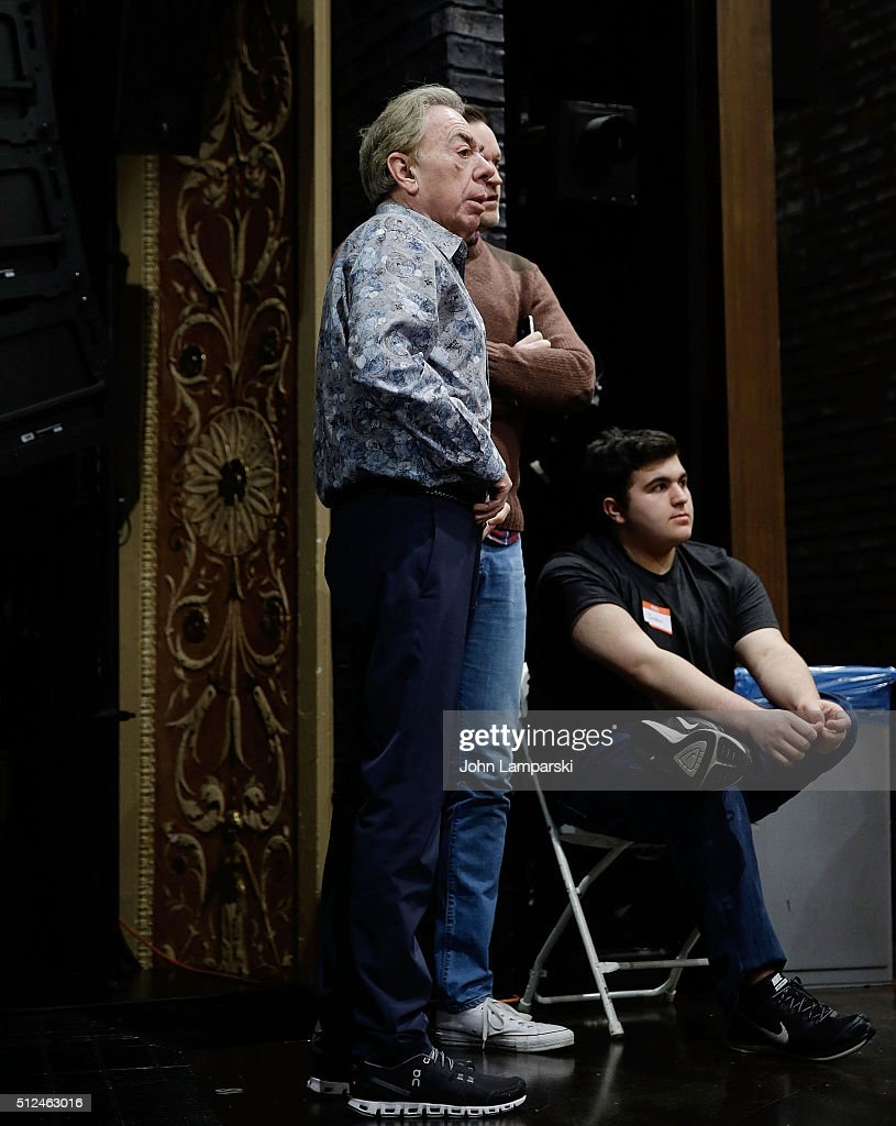 composer andrew lloyd webber attends of rock the musical open picture id512463016