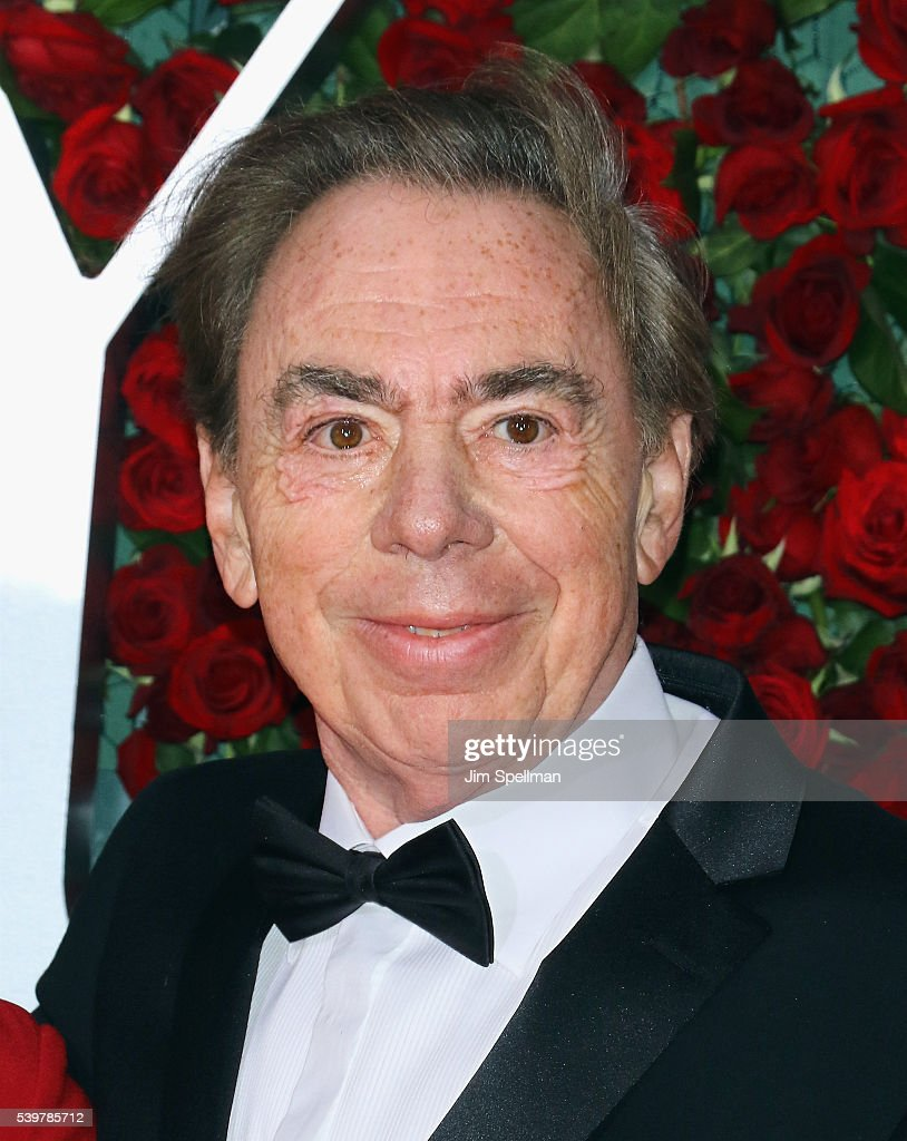 Composer Andrew Lloyd Webber attends the 70th Annual Tony Awards at Beacon Theatre on June 12, 2016 in New York City.