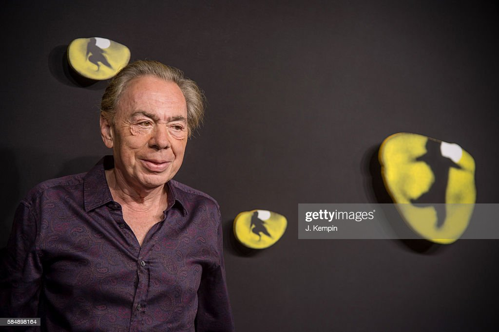 Composer Andrew Lloyd Webber attends the 'Cats' Broadway Opening at Neil Simon Theatre on July 31, 2016 in New York City.