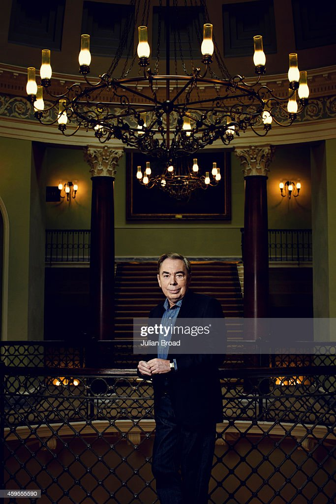Composer <a gi-track='captionPersonalityLinkClicked' href=/galleries/search?phrase=Andrew+Lloyd+Webber&family=editorial&specificpeople=157705 ng-click='$event.stopPropagation()'>Andrew Lloyd Webber</a> is photographed for Vanity Fair magazine on June 18, 2013 in London, England.