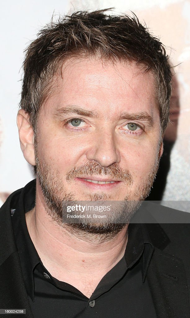 Composer Atli Orvarsson attends the Premiere of Paramount Pictures' 'Hansel And Gretel Witch Hunters' at the TCL Chinese Theatre on January 24, 2013 in Hollywood, California.