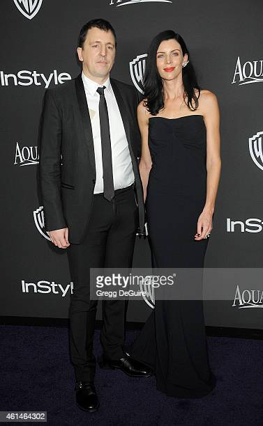 Composer Atticus Ross and Liberty Ross arrive at the 16th Annual Warner Bros And InStyle PostGolden Globe Party at The Beverly Hilton Hotel on...