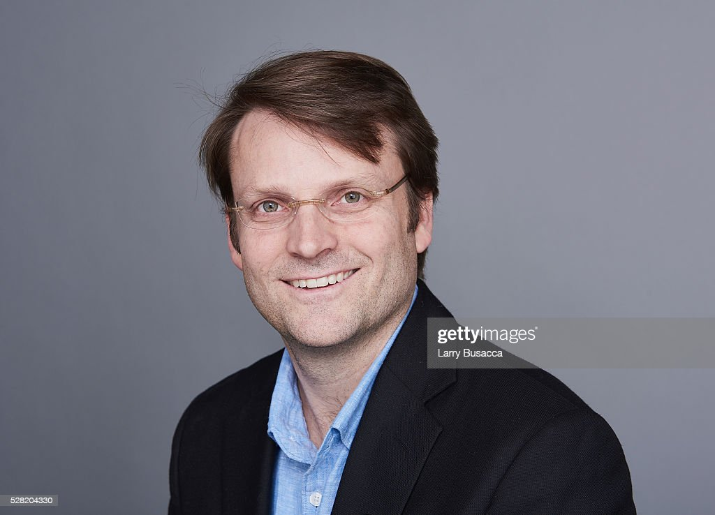 Composer August Eriksmoen poses for a portrait at the 2016 Tony Awards Meet The Nominees Press Reception on May 4, 2016 in New York City.
