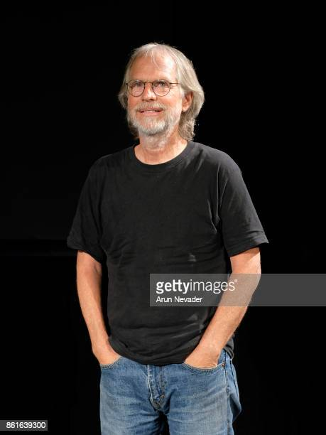 Composer Barry Phillips leads Q and A after the screening of the film 4 Wheel Bob at the Santa Cruz Film Festival at Tannery Arts Center on October...