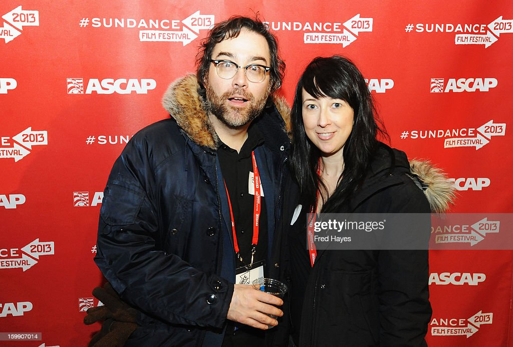 Composer Bleu and Stacey Peck attend the ASCAP Composer Filmmaker Cocktail Party at ASCAP Music Cafe during the 2013 Sundance Film Festival on January 22, 2013 in Park City, Utah.
