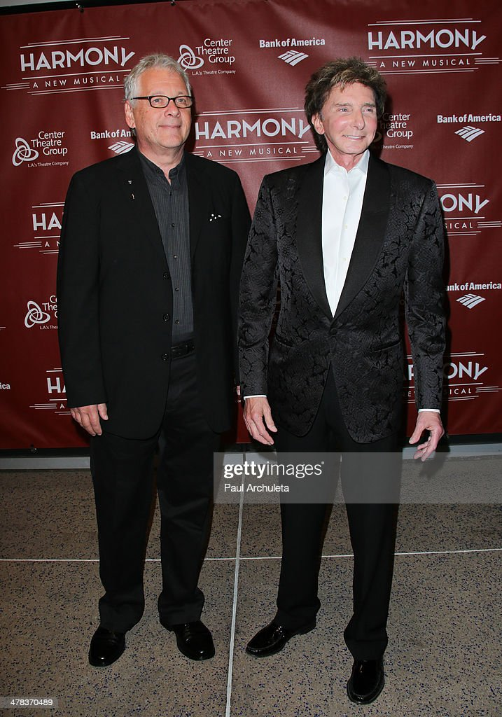 "Opening Night Of Barry Manilow And Bruce Sussman's ""Harmony"""
