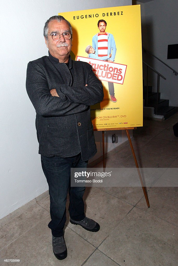 Composer Carlo Siliotto attends the 'Instructions Not Included' screening and reception on January 14 2014 in Los Angeles California