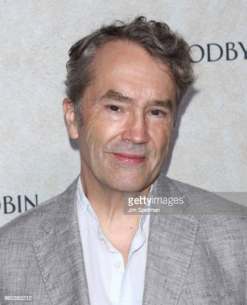 Composer Carter Burwell attends the 'Good Bye Christopher Robin' New York special screening at The New York Public Library on October 11 2017 in New...