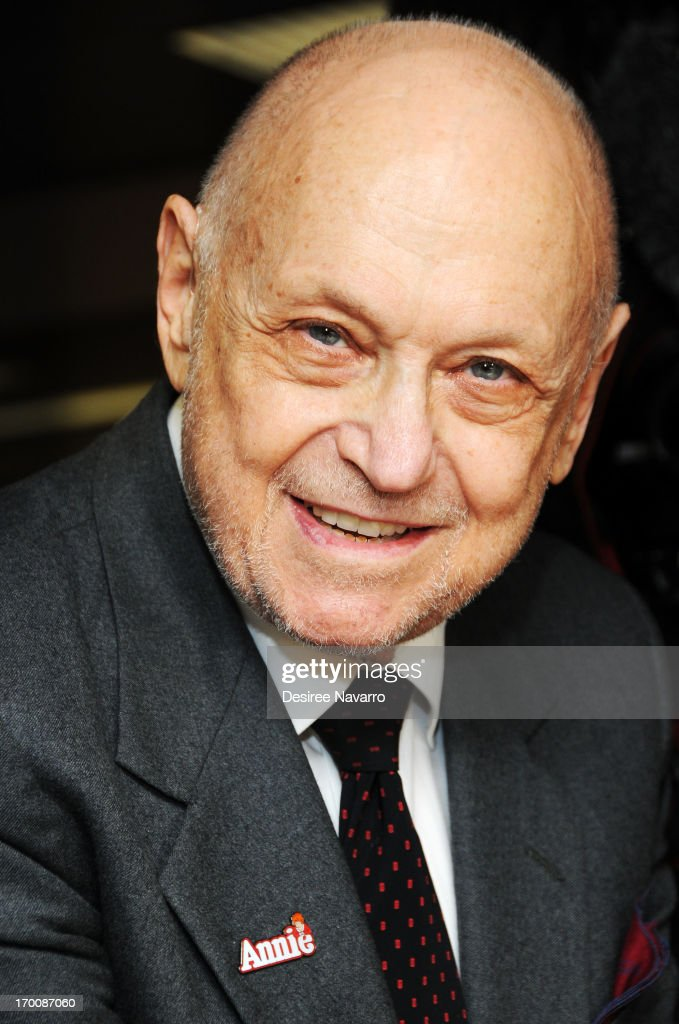 Composer Charles Strouse attends Broadway's 'ANNIE The Musical' Composer Charles Strouse Birthday Celebration at the Palace Theatre on June 6 2013 in...